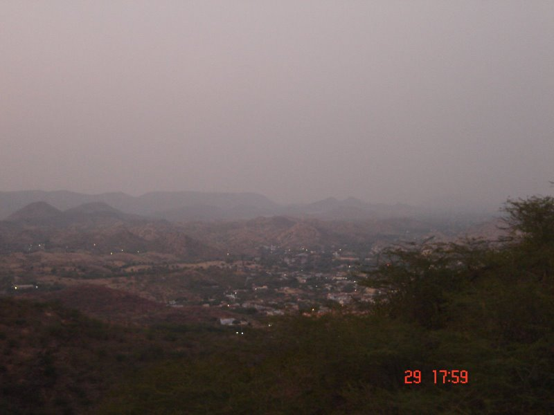 A View of the Khetri Town