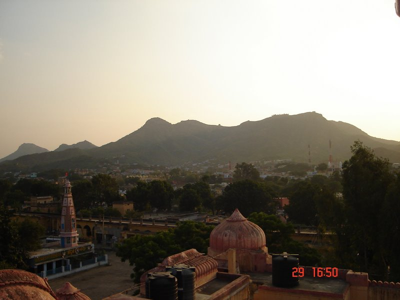 A View of Khetri From Mission temple